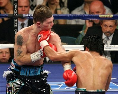 Pacquiao Hatton Boxing
