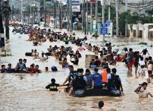 APTOPIX Philippines Flooding