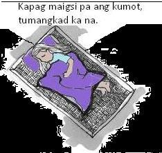 makabago at nabagong mga salawikain batay sa mga pangyayari sa