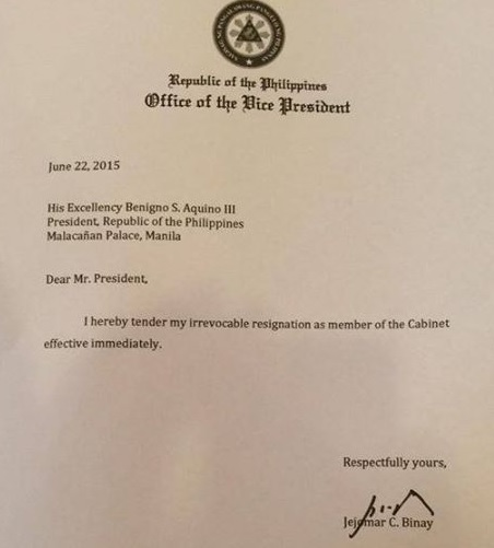 The Resignation Letter The Professional Heckler