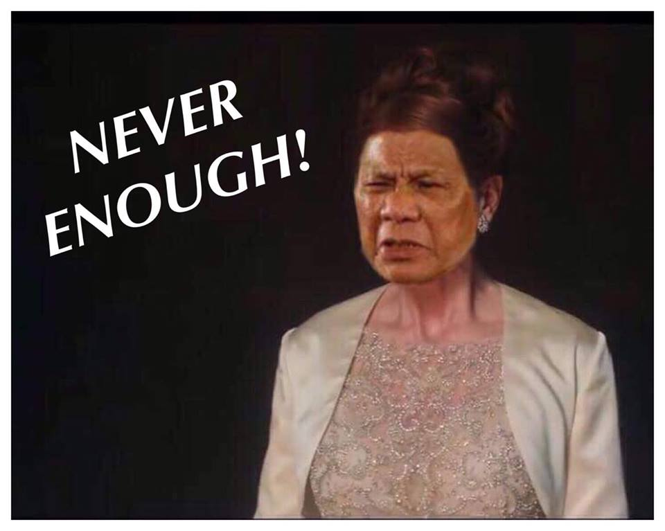 """NEVER ENOUGH"" BY RODRIGO DUTERTE, THE RUTHLESS SHOWMAN"