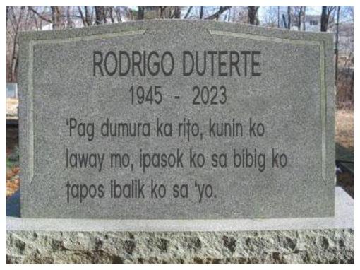 1RIP Duterte
