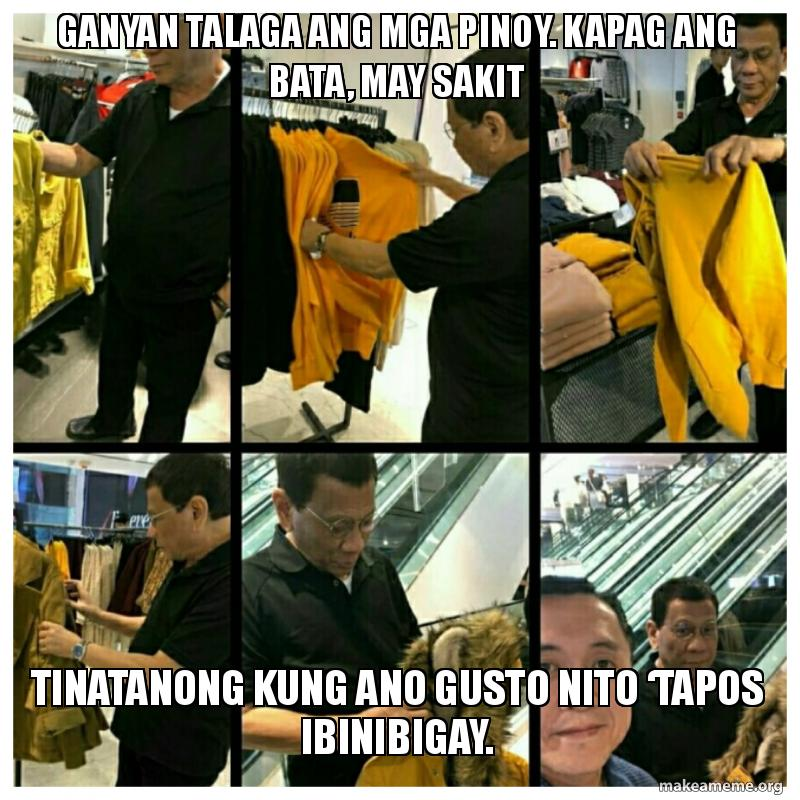 Duterte Shopping